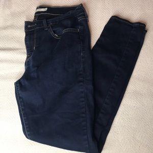 710 Levi super skinny low waist jeans